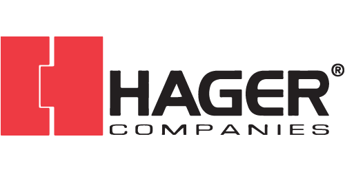 Hager logo - DuPage Security Solutions preferred vendor